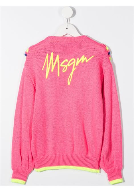 Maglia fucsia MSGM | MAGLIONE | 025924044