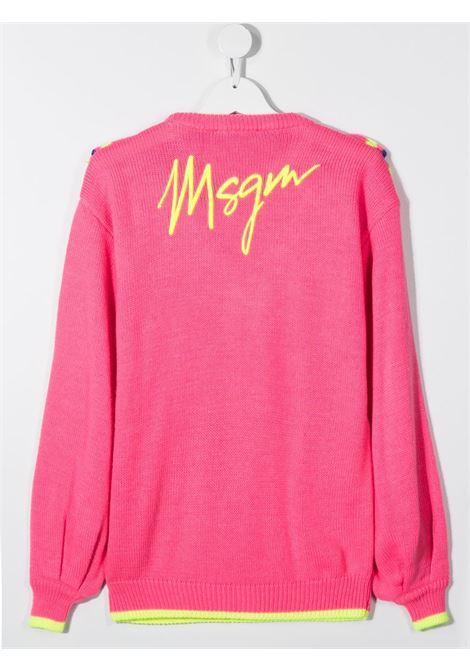 Maglia fucsia MSGM | MAGLIONE | 025924T044