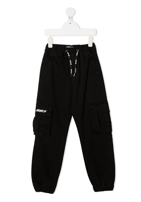 Pantalone nero MSGM | PANTALONI | 025935110