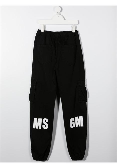 Pantalone nero MSGM | PANTALONI | 025935T110