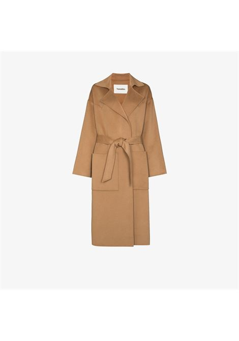 Brown coat NANUSHKA |  | NW20CROW00874CAMEL