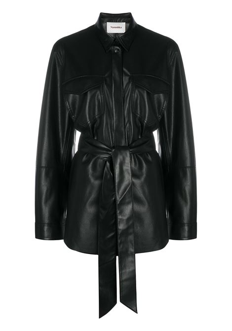 Camicia nera NANUSHKA | CAMICIE | NW20CRSH02399BLACK