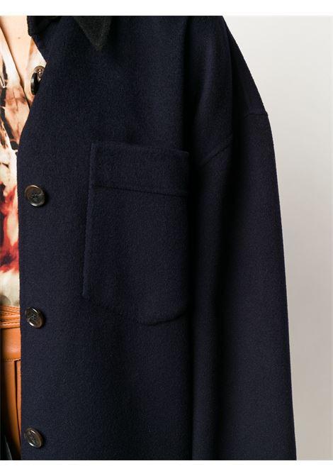 Cappotto blu NANUSHKA | CAMICIE | NW20PFJK00459NAVY