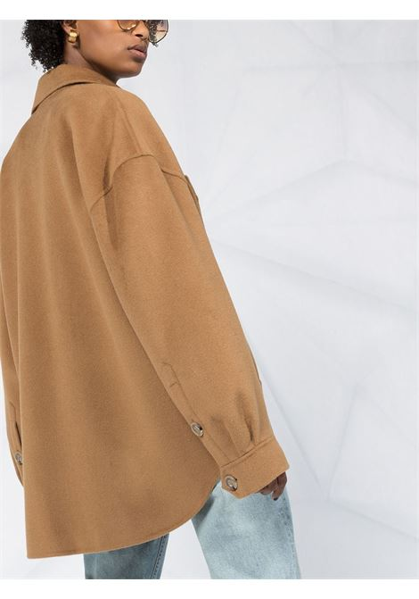 Cappotto marrone NANUSHKA | CAMICIE | NW20PFJK00576LBROWN