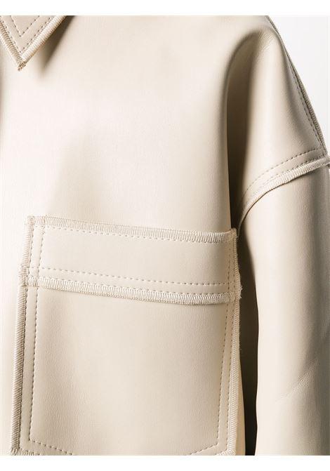 Cappotto beige NANUSHKA | CAMICIE | NW20PFJK00872STONE