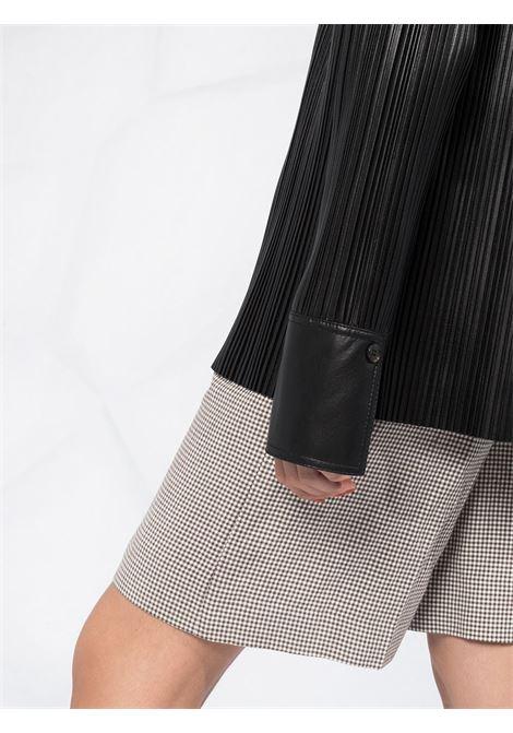 Camicia nera NANUSHKA | CAMICIE | NW20PFSH01199BLACKP