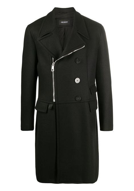 Cappotto nero NEIL BARRETT | CAPPOTTI | PBCA322CZP017C01