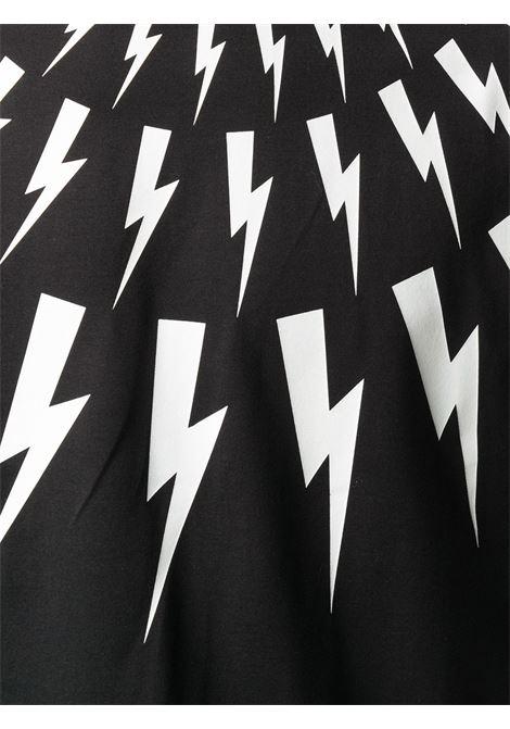 Maglia bianca/nera NEIL BARRETT | T-SHIRT | PBJT808SP515S524