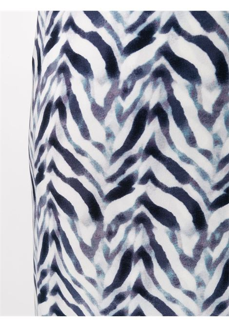 Black/white dress NORMA KAMALI | DRESS | KK1203PL221458CHEVRONZEBRA