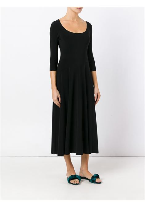 Black dress NORMA KAMALI | DRESS | KK2273PL145001BLACK