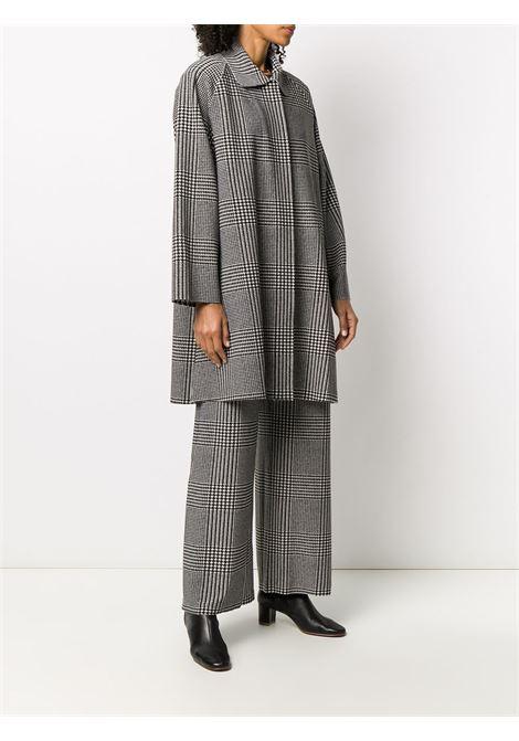 Cappotto grigio NORMA KAMALI | CAPPOTTI | KK3204PL040473PLAIDL