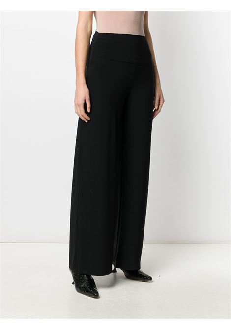 Black trousers NORMA KAMALI | TROUSERS | KK4257PL111001BLACK