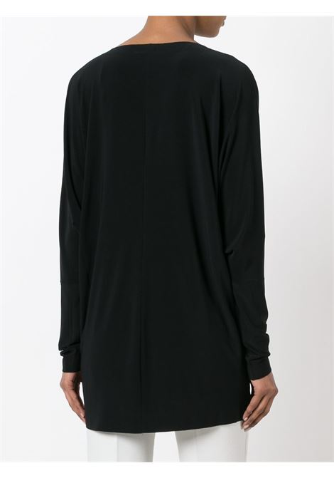 Black jumper NORMA KAMALI | JERSEYS | KK4266PL123001BLACK