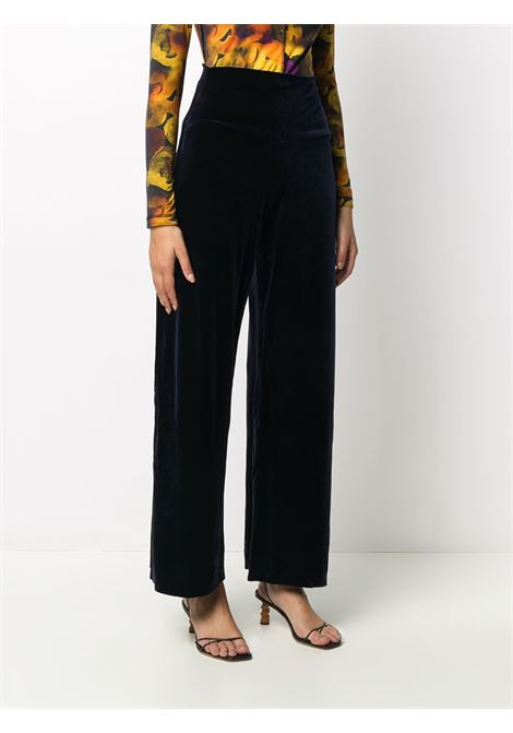Blue trousers NORMA KAMALI | JACKETS | ST2204VE001012MIDNIGHT