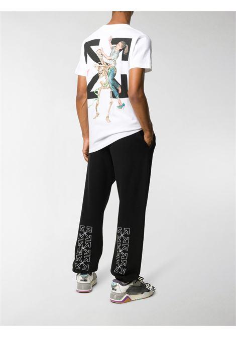T-shirt bianca OFF WHITE | T-SHIRT | OMAA027F20FAB0030110