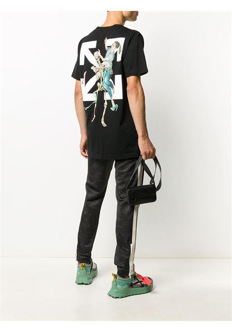 Black t-shirt OFF WHITE   T-SHIRT   OMAA027F20FAB0031010