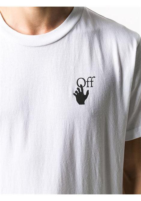 T-shirt bianca OFF WHITE | T-SHIRT | OMAA027F20FAB0040110