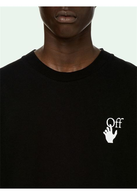 Maglia nera OFF WHITE | T-SHIRT | OMAA027F20FAB0131001