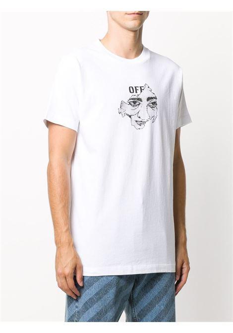 T-shirt bianca OFF WHITE | T-SHIRT | OMAA027F20FAB0150110