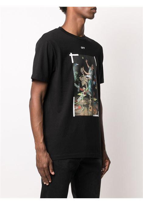 Black t-shirt OFF WHITE   T-SHIRT   OMAA027F20FAB0171001