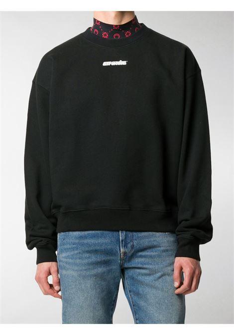 Black sweatshirt OFF WHITE   SWEATSHIRTS   OMBA035E20FLE0021025