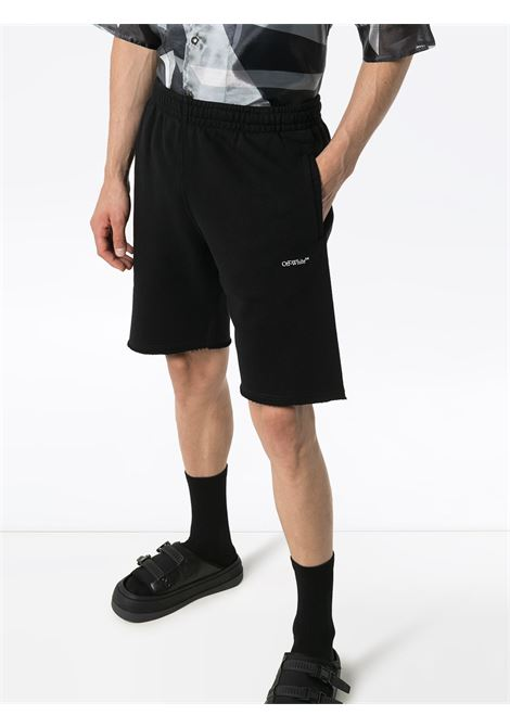 Pantaloncini neri OFF WHITE | SHORTS | OMCI006E20FLE0051010
