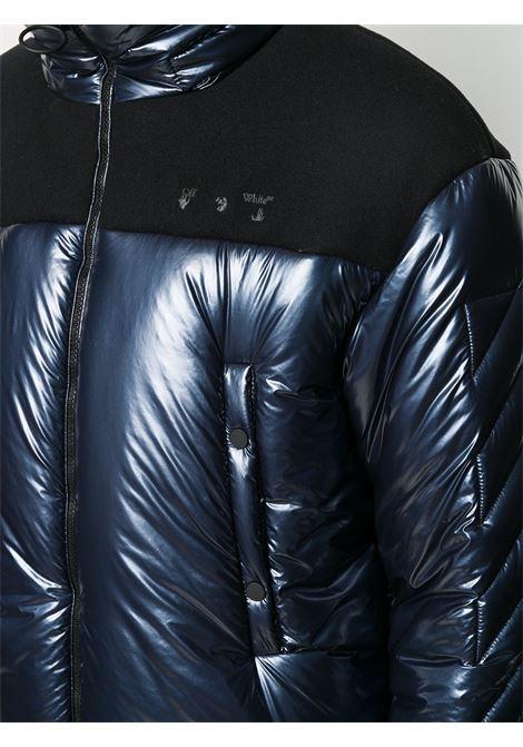 Giubbino blu OFF WHITE | PIUMINI | OMED026F20FAB0014600