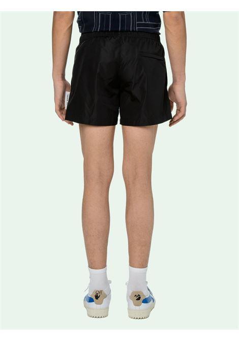 Pantaloncini neri OFF WHITE | SHORTS | OMFA003E20FAB0011001