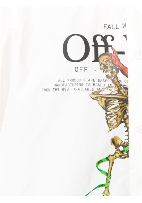 Camicia bianca OFF WHITE | CAMICIE | OMGA138F20FAB0020140