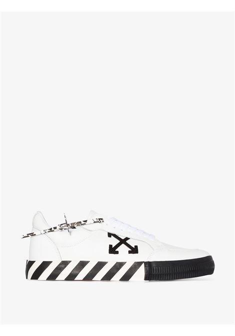 White/black sneakers OFF WHITE   SNEAKERS   OMIA085E20LEA0010110