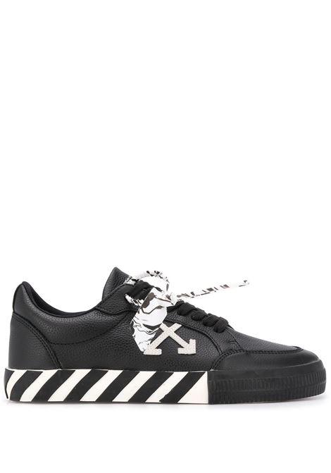 Black/white OFF WHITE   SNEAKERS   OMIA085E20LEA0011001