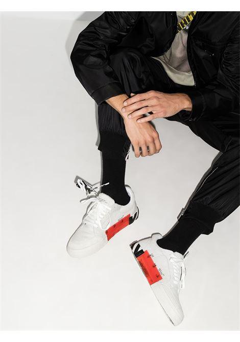 Scarpa bianca/nera/rossa OFF WHITE | SNEAKERS | OMIA085F20LEA0020110