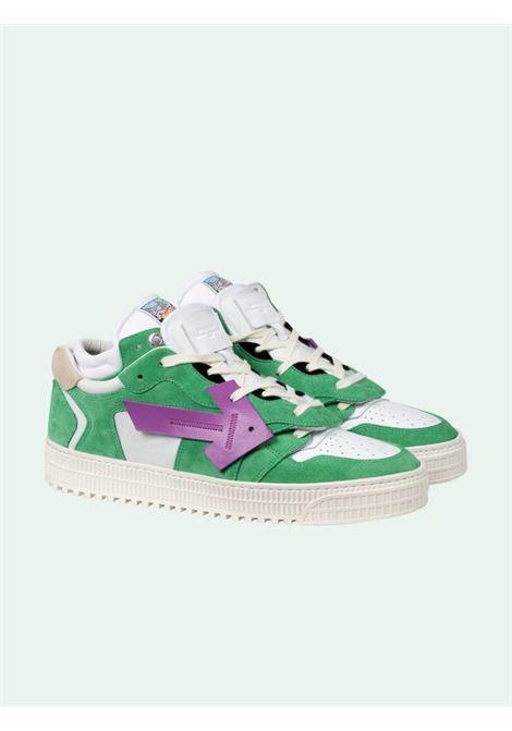 Green/white sneakers OFF WHITE   SNEAKERS   OMIA151E20LEA0015537