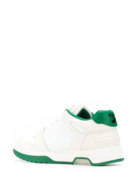 Scarpa bianca/verde OFF WHITE | SNEAKERS | OMIA189F20LEA0010155