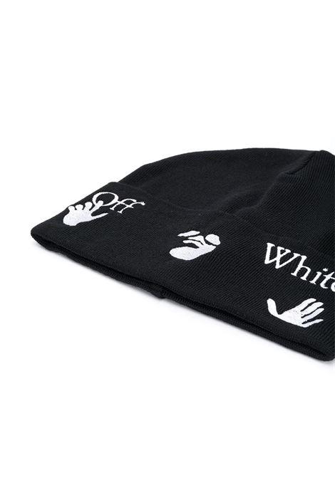 Berretto nero OFF WHITE | BERRETTI | OMLC012E20KNI0011001