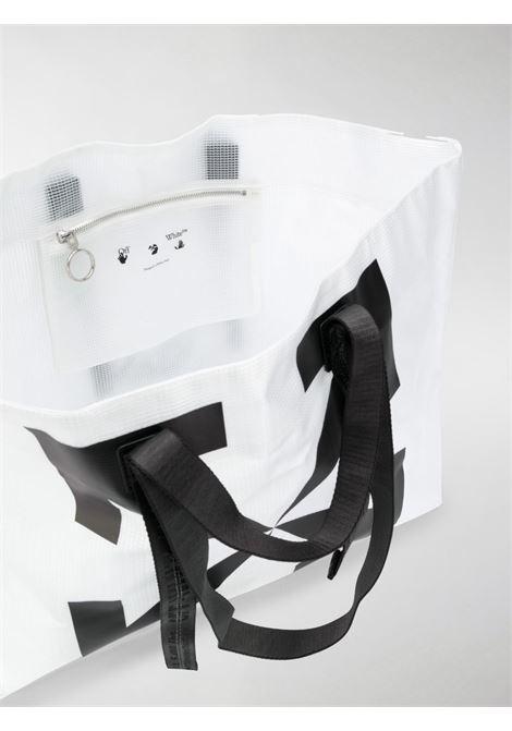Borsa bianca OFF WHITE | TOTE | OMNA054E20PLA0010110