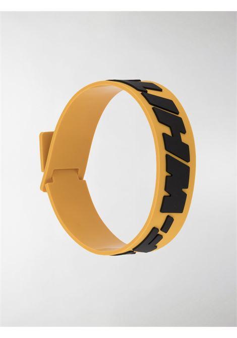 Yellow bracelet OFF WHITE |  | OMOA015E20MAT0011810
