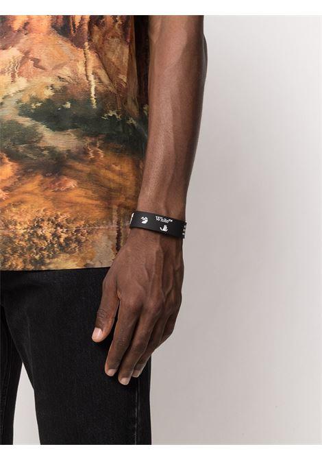 Bracciale nero OFF WHITE | BRACCIALI | OMOA015F20MAT0021001