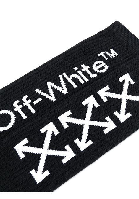 Calzini neri OFF WHITE | CALZINI | OMRA001F20KNI0011001