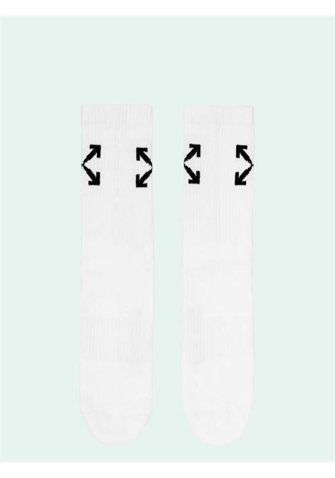 Calzini bianchi OFF WHITE | CALZINI | OMRA024E20KNI0010110