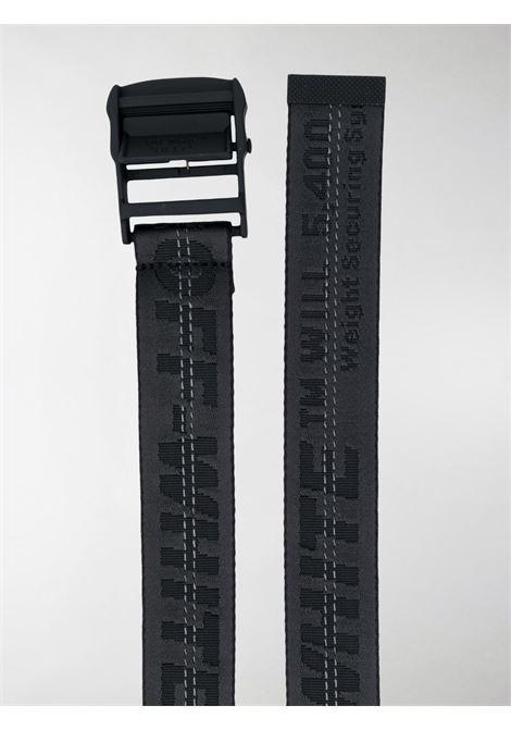 Cintura nera OFF WHITE | CINTURE | OMRB012E20FAB0011010