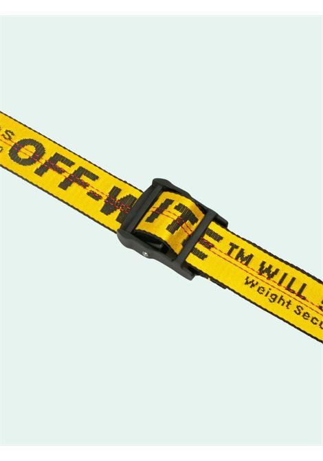 Cintura gialla OFF WHITE | CINTURE | OMRB012E20FAB0011810