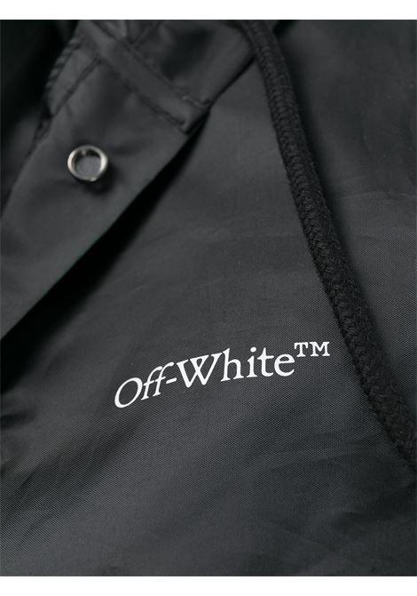 Impermeabile nero OFF WHITE | IMPERMEABILE | OMZG048F20FAB0011001