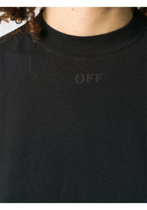 Maglia nera OFF WHITE   T-SHIRT   OWAA049E20JER0131010
