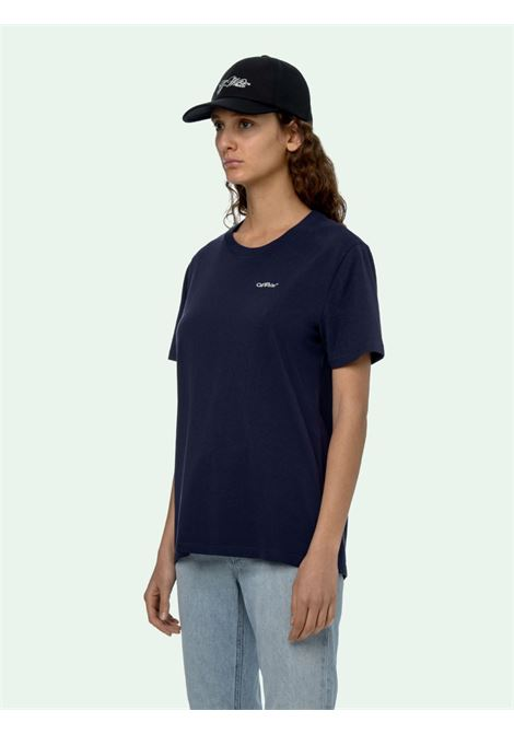 Dark blue t-shirt OFF WHITE |  | OWAA049F20JER0044501