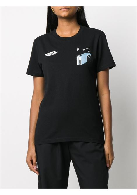 Black t-shirt OFF WHITE |  | OWAA049F20JER0131001