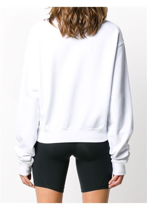White sweatshirt OFF WHITE | SWEATSHIRTS | OWBA026E20FLE0020110