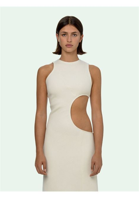 Beige dress OFF WHITE |  | OWDB273F20FAB0016100