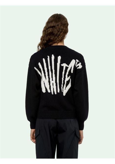 Black jumper OFF WHITE |  | OWHE017F20KNI0011001