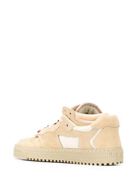 Scarpa beige OFF WHITE | SNEAKERS | OWIA181F20LEA0016146